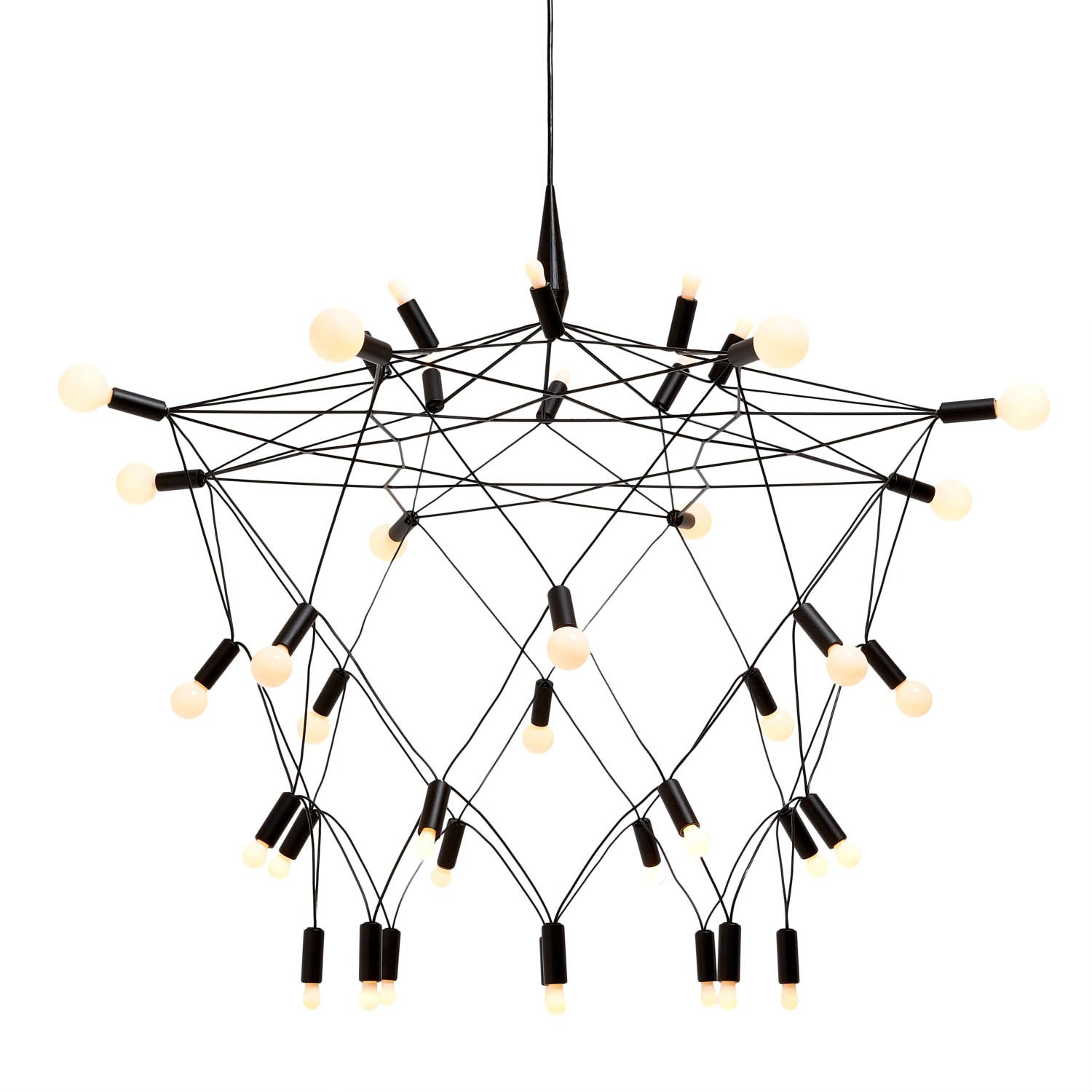 Admirable unique design of orbit chandelier with iron or stainless for ceiling lighting decorating ideas