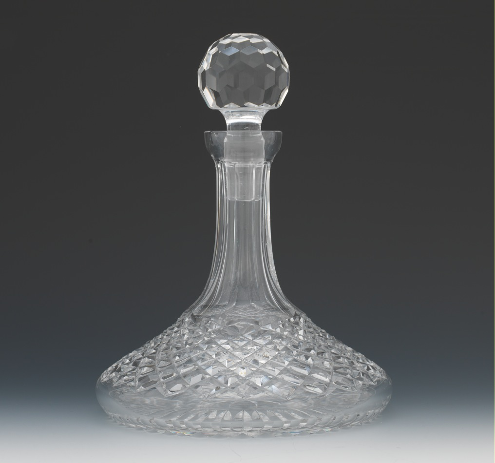 Admirable waterford crystal decanter waterford crystal lismore for dining display serveware ideas