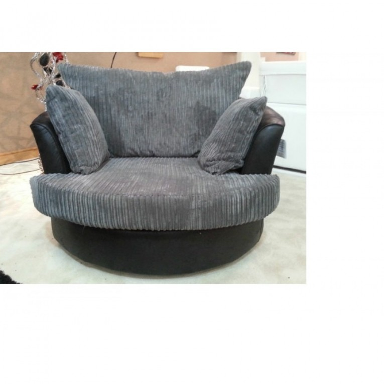Adorable Cannon Swivel Cuddle Chair With Cushion And For Your Beautiful Living Room Ideas