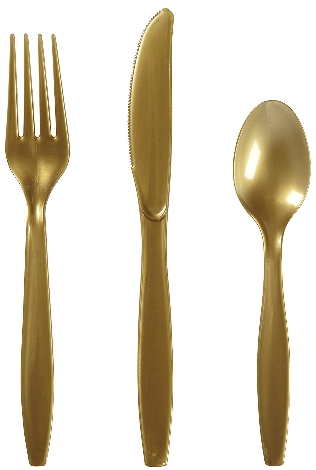 Adorable gold plastic silverware with glitters gold plastic silverware for serverware ideas