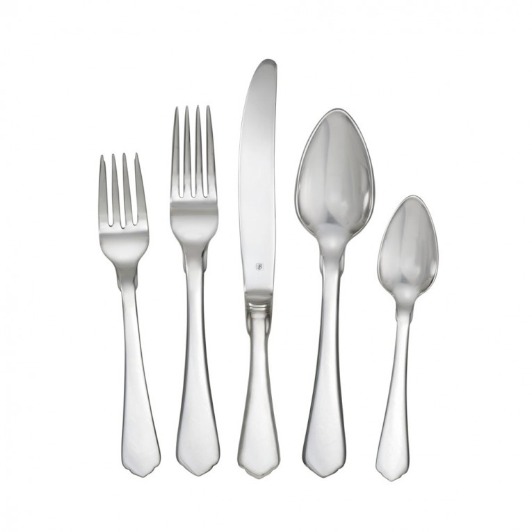 Adorable Towle Flatware 42 Piece Stainless Steel Flatware Set For Serveware Ideas