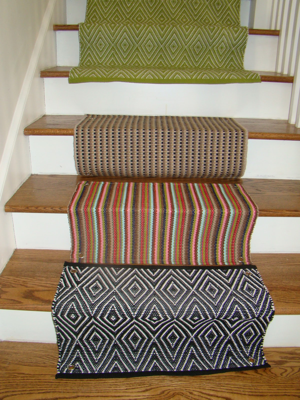 Alluring dash and albert runner at home stairways combinet with laminate floor stairs