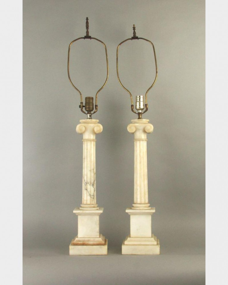 Alluring Design Of Alabaster Lamps For Home Light Display Alabaster Lamps Ideas