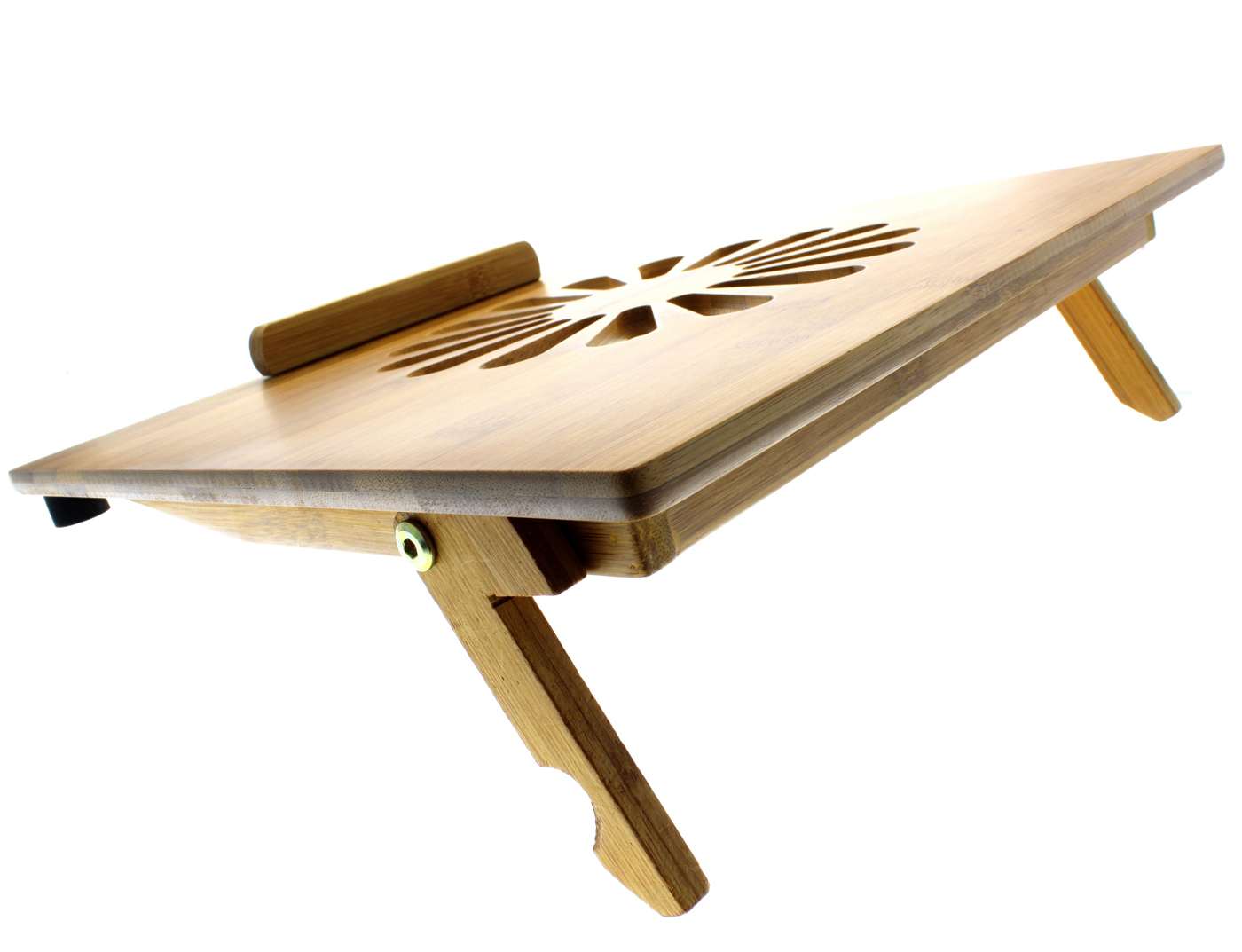 Beautiful Laptop Desk Stand for Work Space or Office: Alluring Laptop Desk Stand With Aluminium Feet With Roll For Work Space Or Office Furniture Ideas