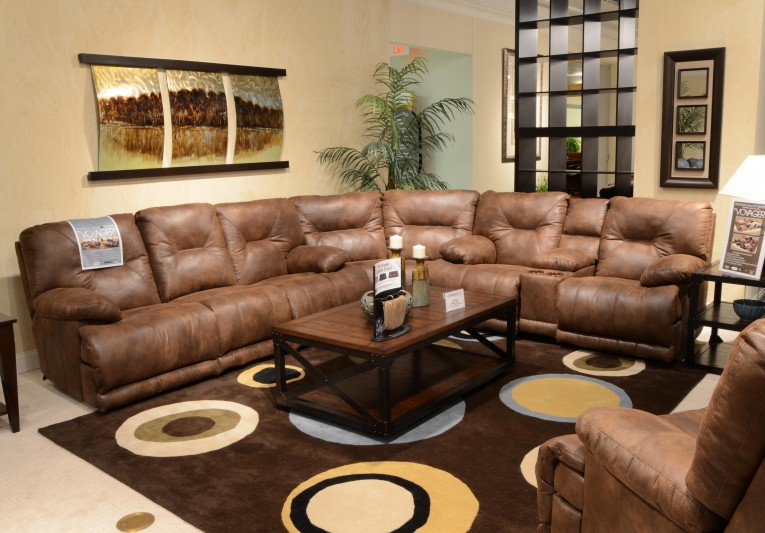 Alluring Living Room Sectionals With Glass Table And Rugs Also Sidetable