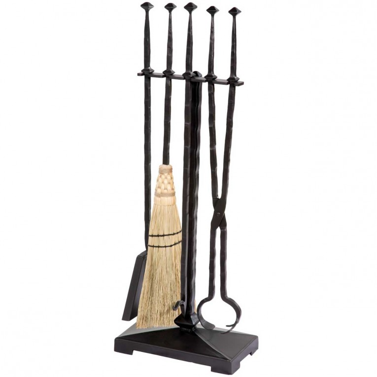 Alluring Wrought Iron Fireplace Tools Pine Firelace Tool For Your Home Interior Tool Improvements