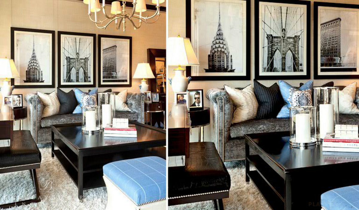Amazing barclay butera with unique pattern interior for living room combined with barclay butera furniture ideas