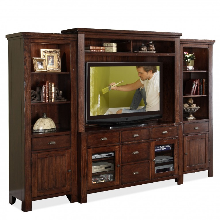 Amazing Big Cabinet With Plasma Tv And Tyndall Furniture