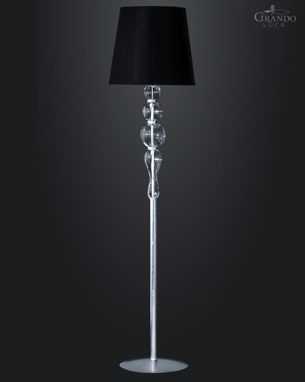 Amazing crystal floor lamp with unique design and good for your home light ideas