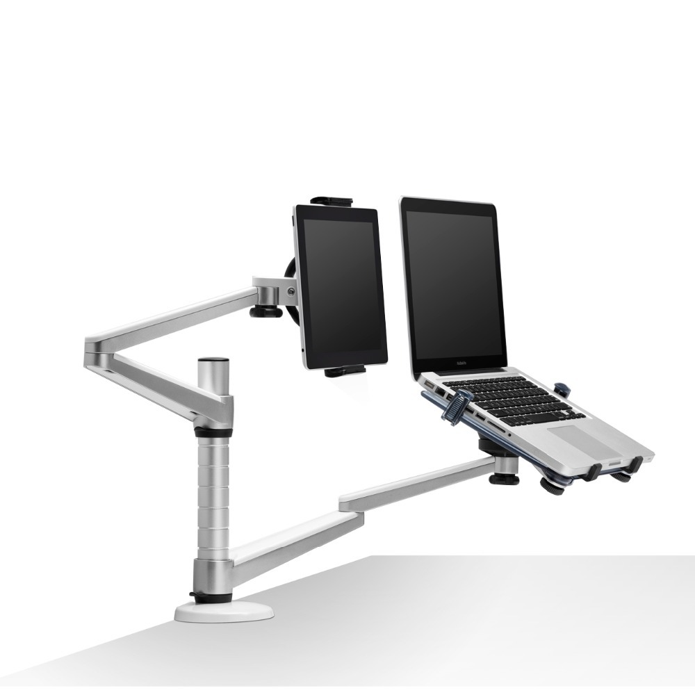 Amazing laptop desk stand with aluminium feet with roll for work space or office furniture Ideas
