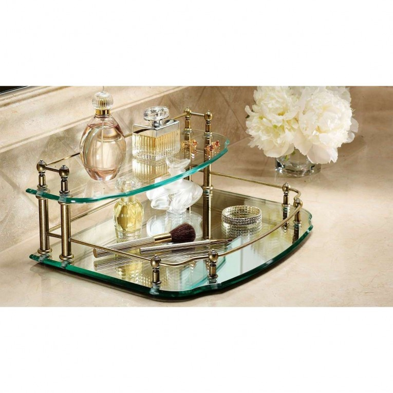 Amazing Mirrored Vanity Tray