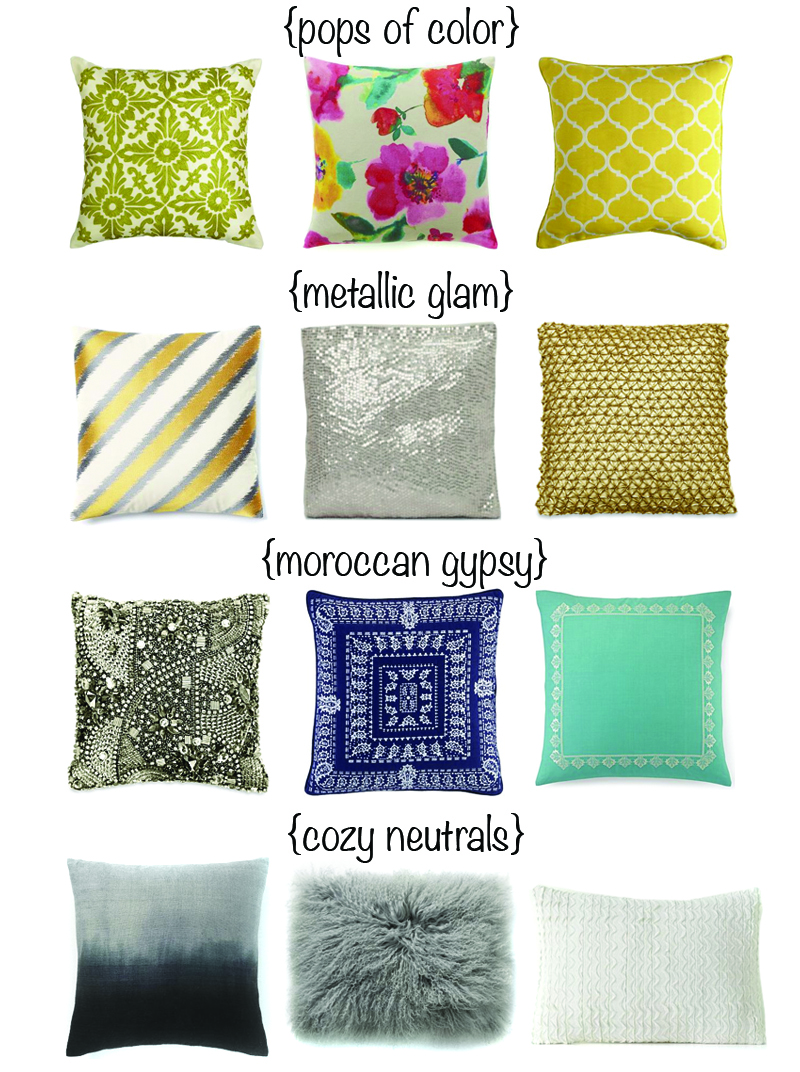 Amazing pattern of cheap decorative pillows for bed or sofas furniture ideas