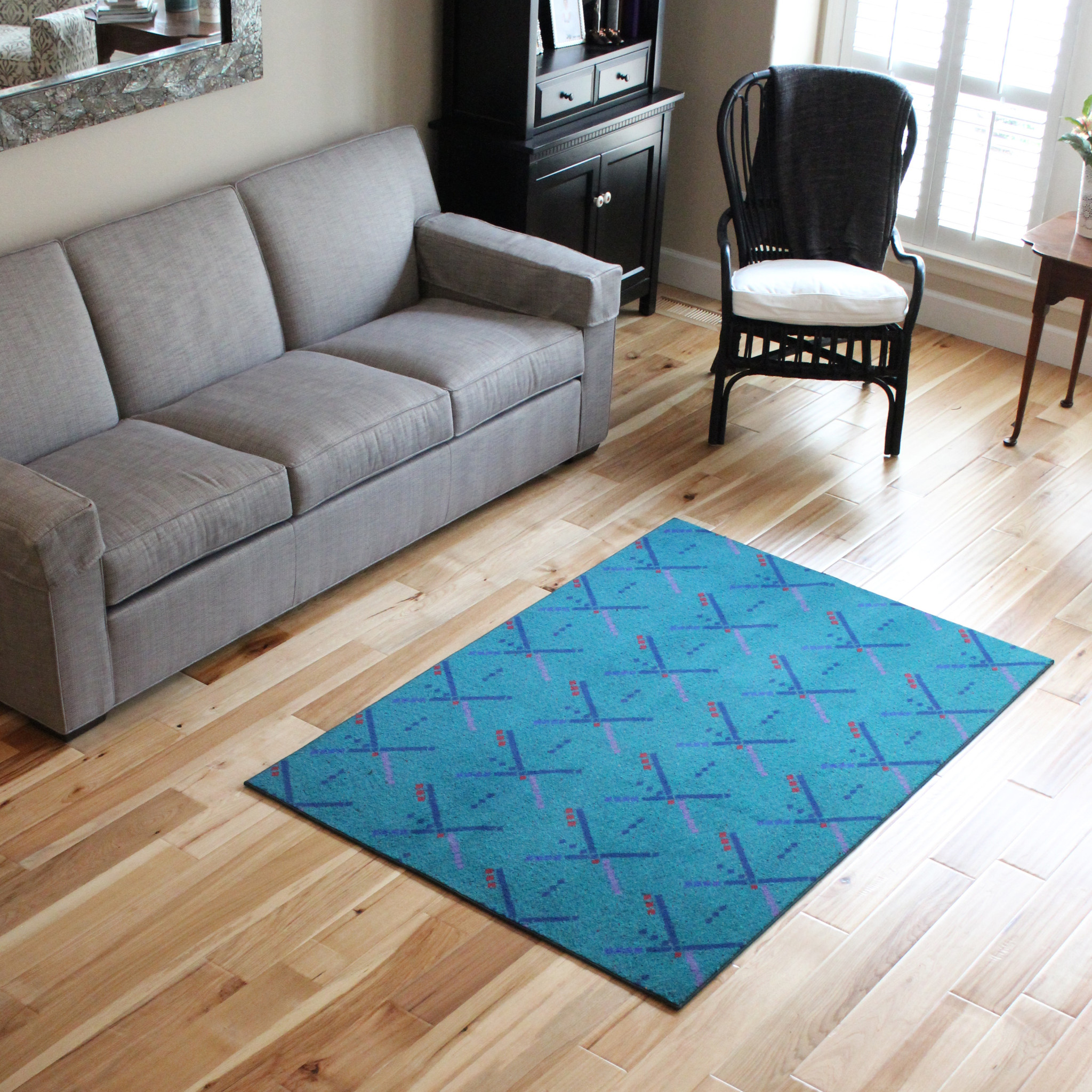 Amusing 4x6 rugs sheepskin rug and dark laminate floor also sectional sofa combined with queen bedsize for Living Room or Bedroom