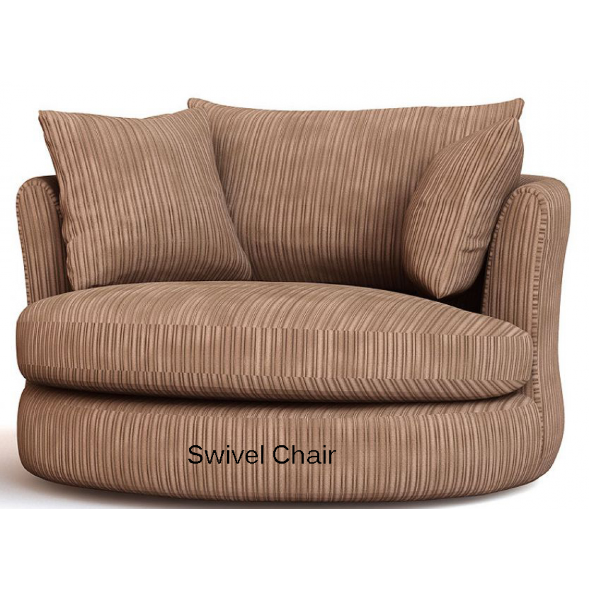 Amusing Cannon Swivel cuddle chair with cushion and for your Beautiful Living Room Ideas