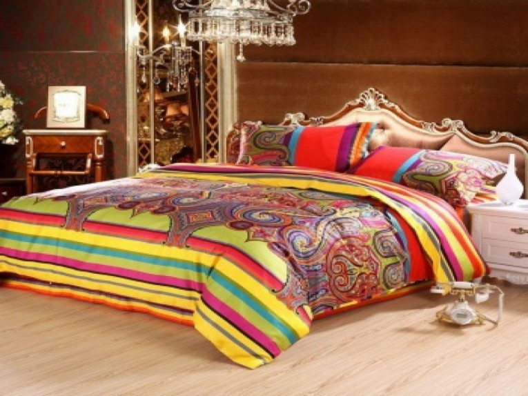 Amusing Bohemian Comforter With Twin Full Queen Size Cotton Bohemian Comforter With Modern Bedding Sets