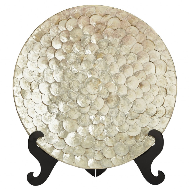 Amusing Capiz Shells Wall Mirror Gold With Light Capiz Shells For Your Home Lighting Ideas