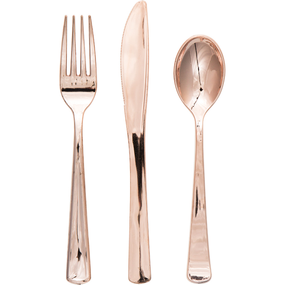 Amusing gold plastic silverware with glitters gold plastic silverware for serverware ideas