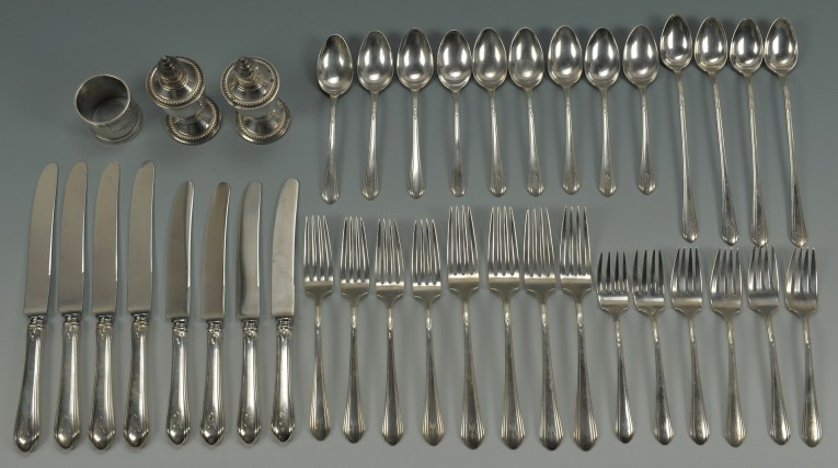 Amusing Towle Flatware 5 Piece Stainless Steel Flatware Set For Serveware Ideas