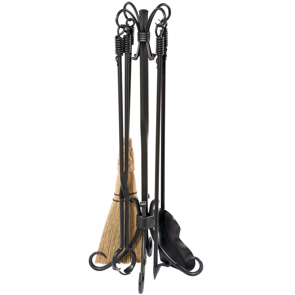 Amusing wrought iron fireplace tools pine firelace tool for your home interior tool improvements