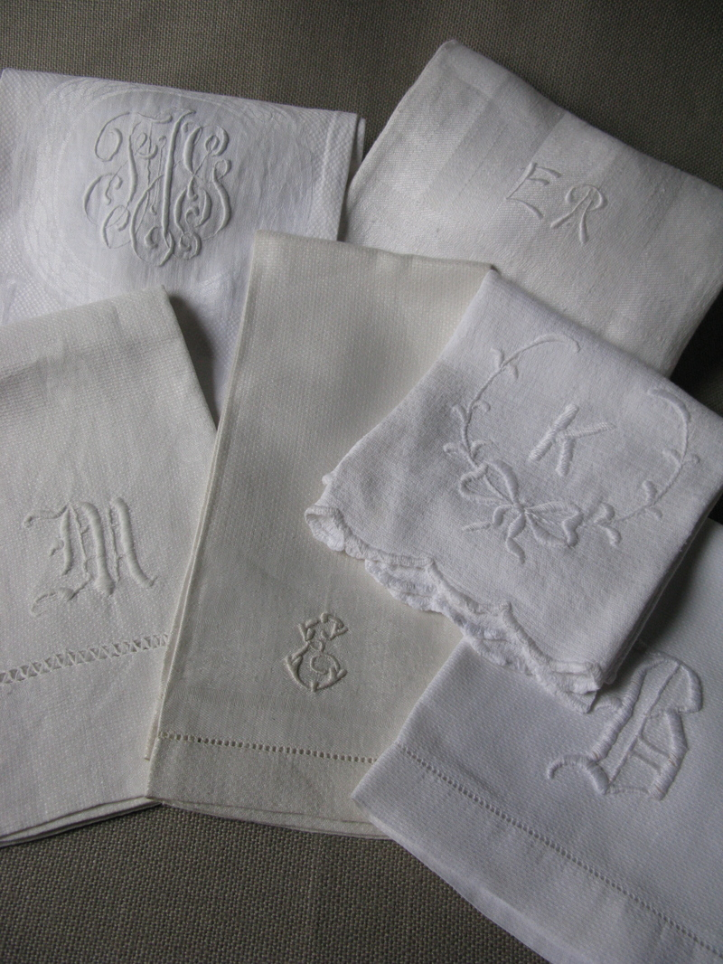 Appealing monogrammed hand towels with Decorative logo pattern towel for bathing Ideas