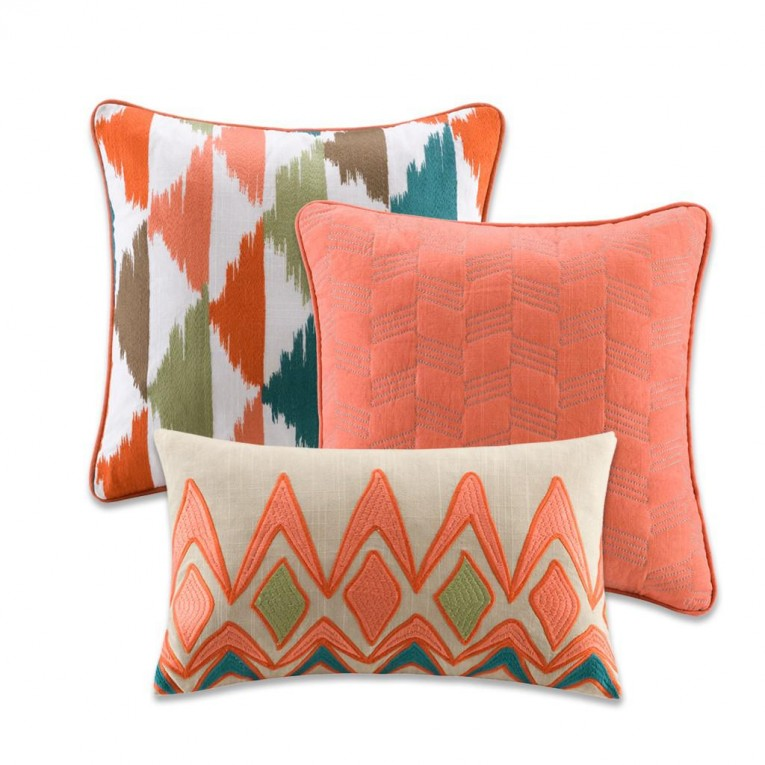 Appealing Pattern Of Cheap Decorative Pillows For Bed Or Sofas Furniture Ideas