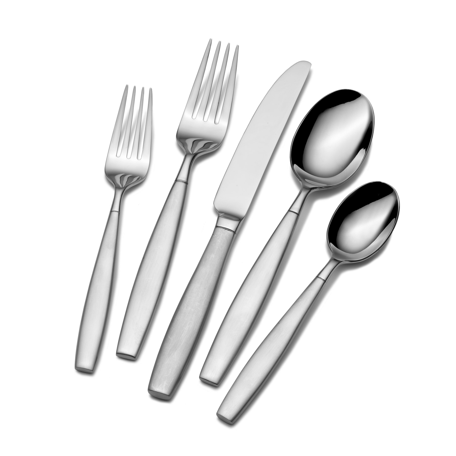 Appealing towle flatware 5 piece stainless steel flatware set for serveware ideas