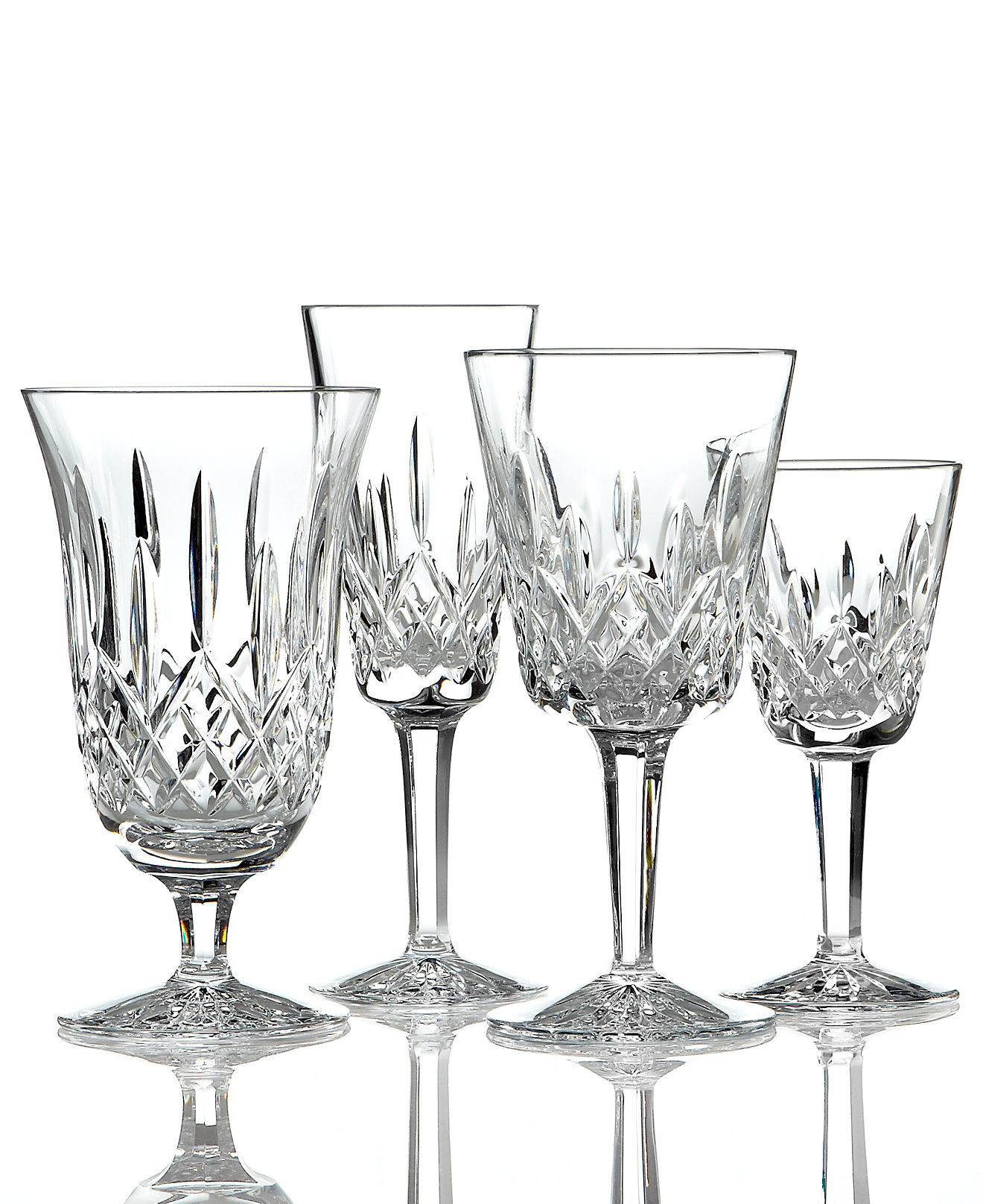 Appealing waterford lismore with lismore goblet design glass waterford lismore