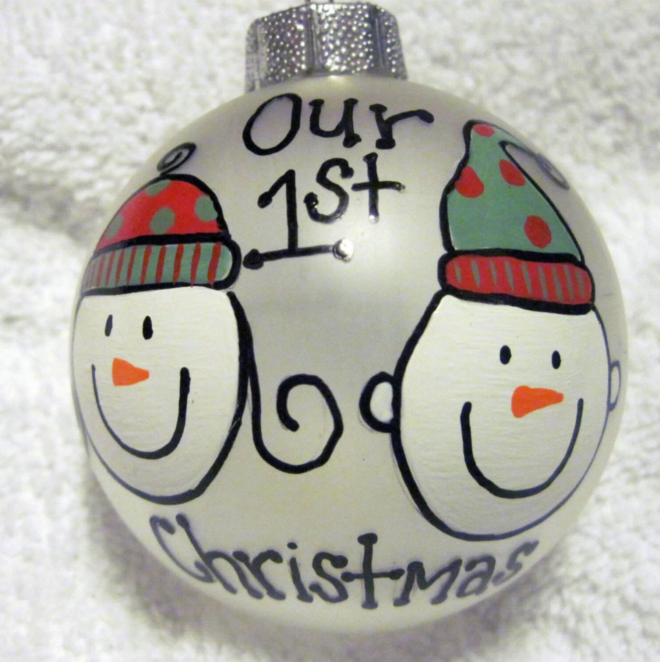 Astonishing our first christmas ornament with unique Design for Home Improvement Decorating Christmas Ideas
