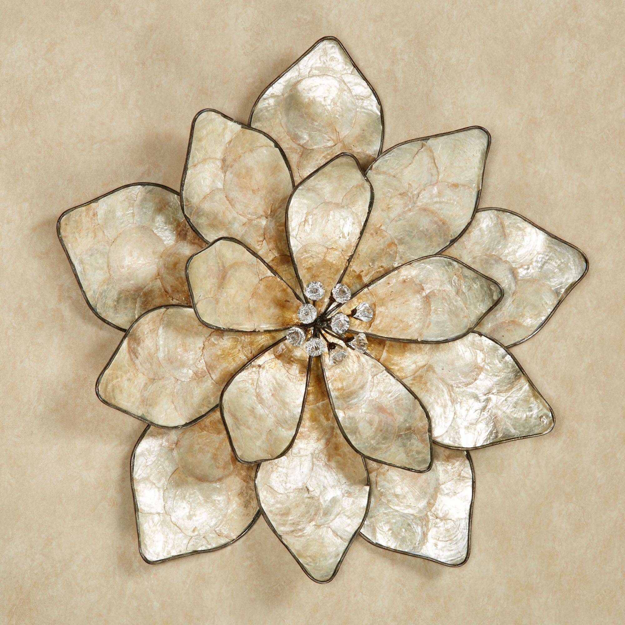 Astounding capiz shells wall mirror gold with light capiz shells for your home lighting ideas