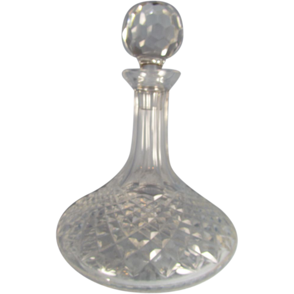 Astounding waterford crystal decanter waterford crystal lismore for dining display serveware ideas