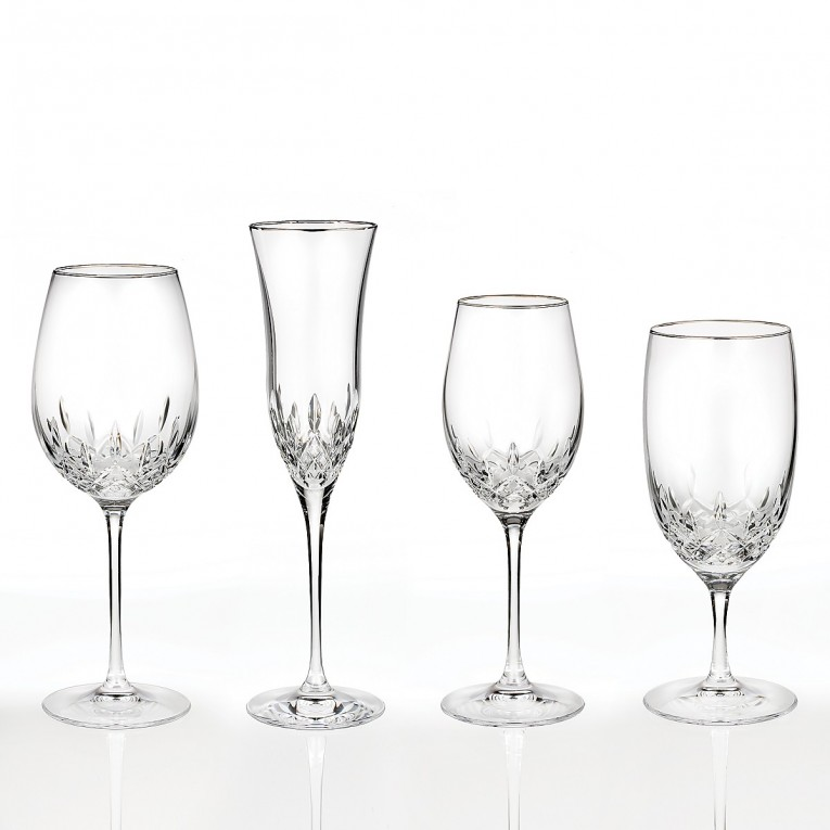 Astounding Waterford Lismore With Lismore Goblet Design Glass Waterford Lismore