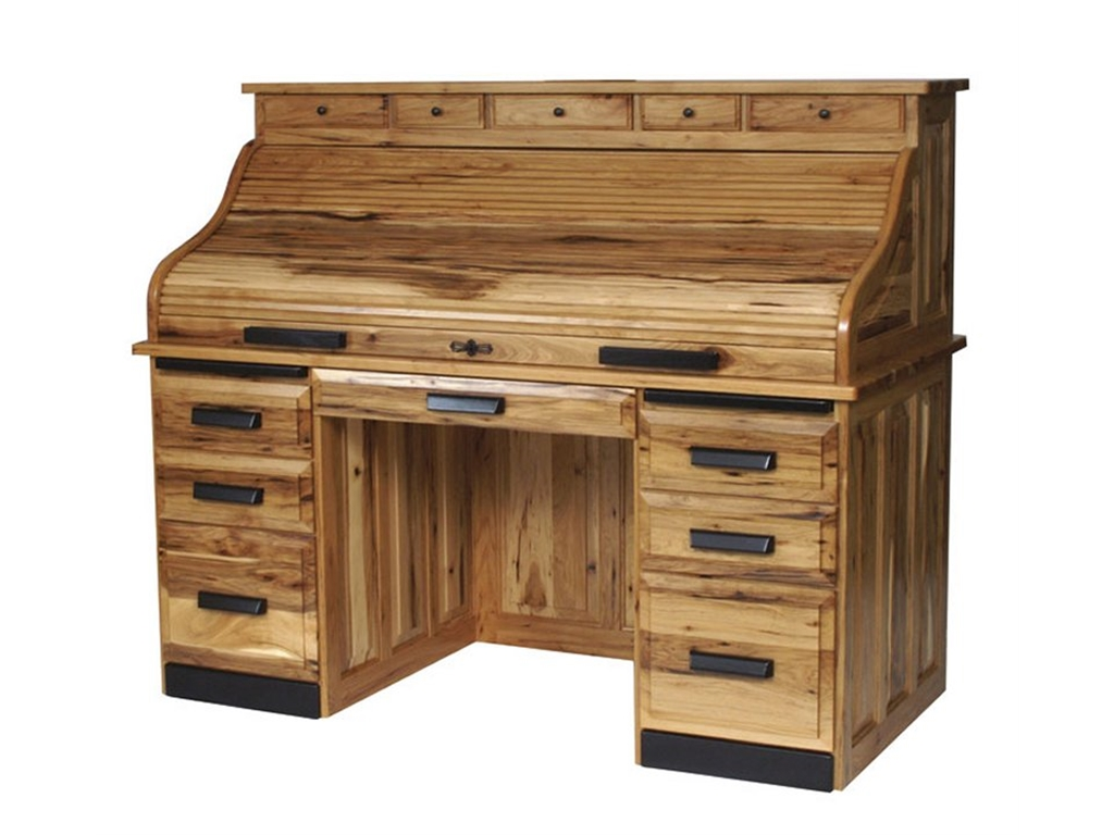 Attractive hickory furniture with pine wooden decorating