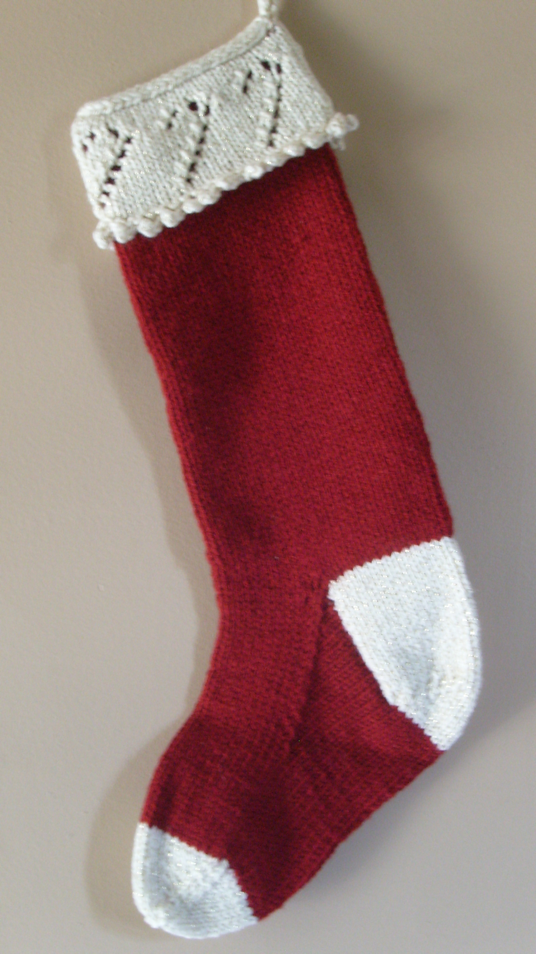 Home Accessories: Attractive Knit Christmas Stockings With ...