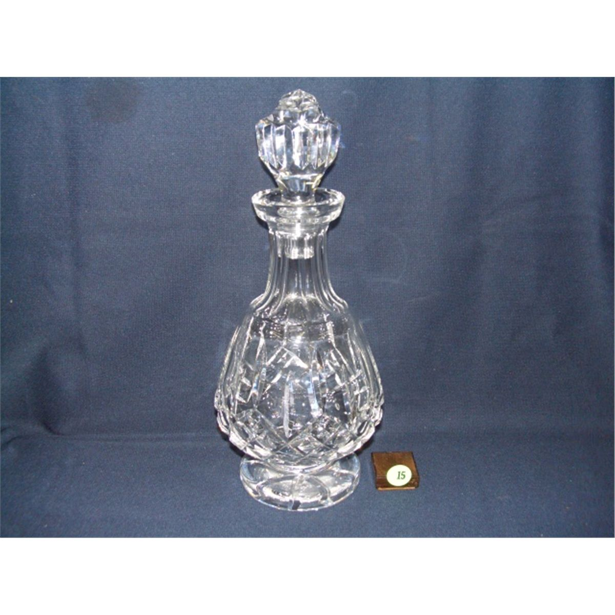 Attractive waterford crystal decanter waterford crystal lismore for dining display serveware ideas