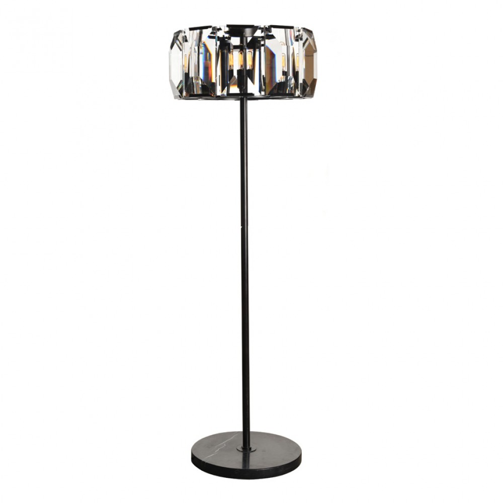 Awesome crystal floor lamp with unique design and good for your home light ideas