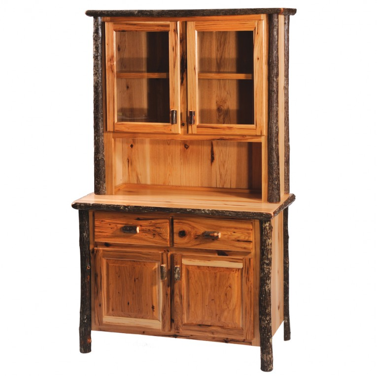 Awesome Hickory Furniture With Pine Wooden Decorating