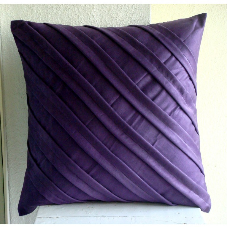 Awesome Purple Throw Pillows With Lavender Pillow Colors And With Abstract Pattern Cushion For Sectional L Sofa Living Room Ideas