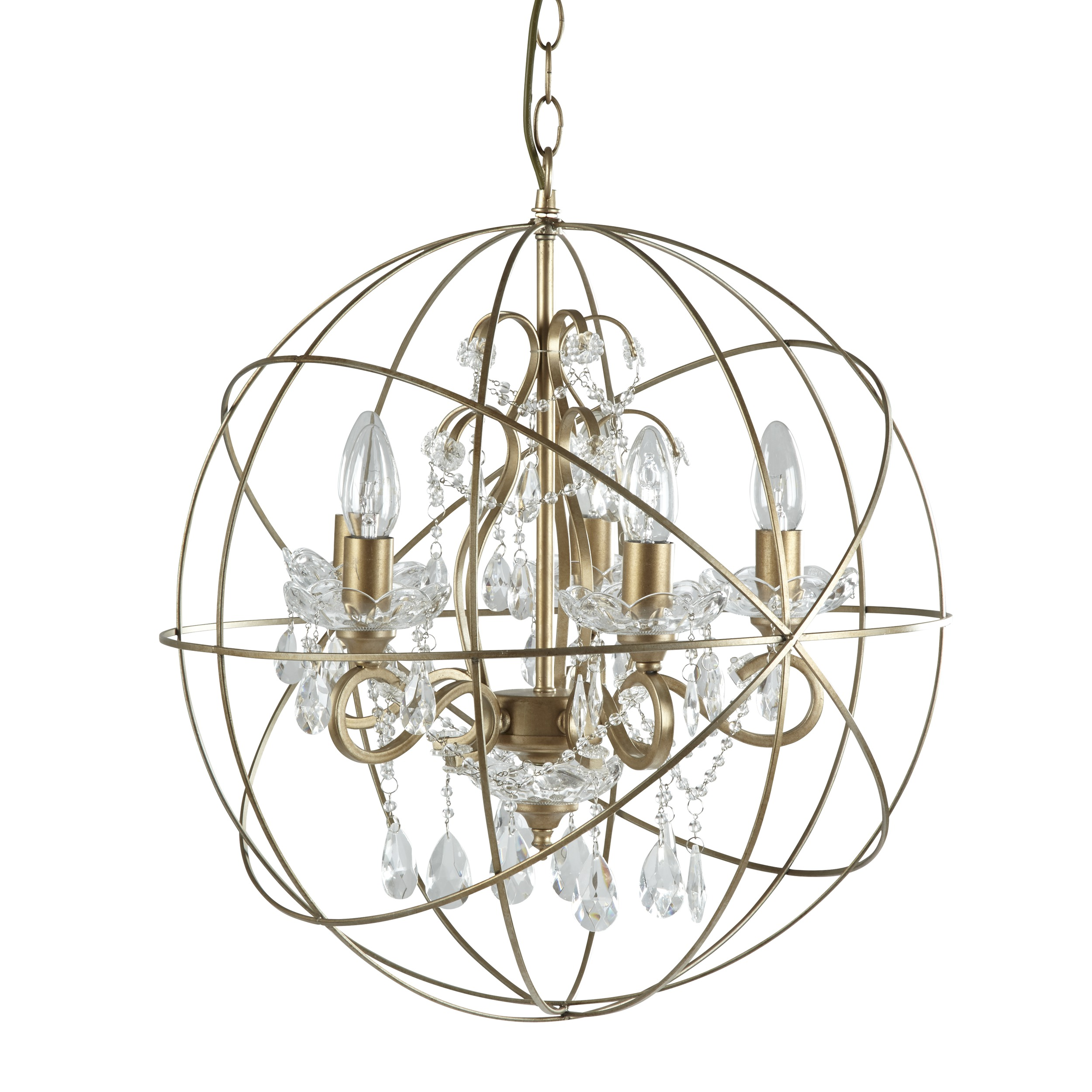 Awesome sphere chandelier metal orb chandelier with interesting Cheap Price for your Home Lighting