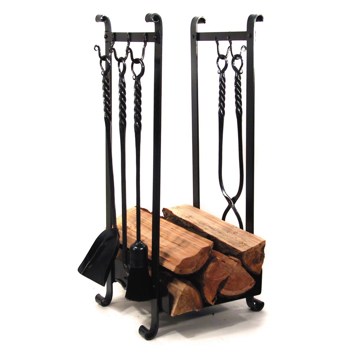 Awesome wrought iron fireplace tools pine firelace tool for your home interior tool improvements
