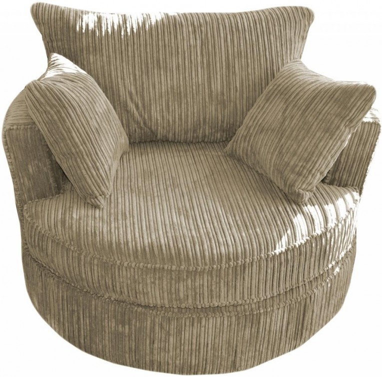 Beautiful Cannon Swivel Cuddle Chair With Cushion And For Your Beautiful Living Room Ideas