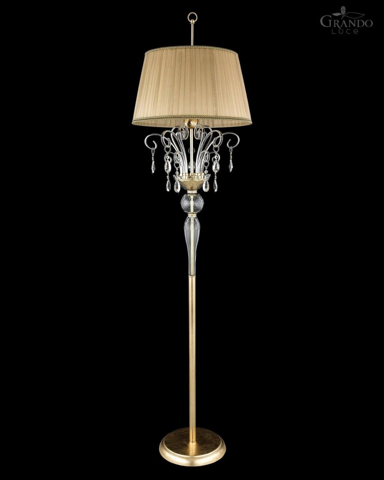 Beautiful Crystal Floor Lamp With Unique Design And Good For Your Home Light Ideas