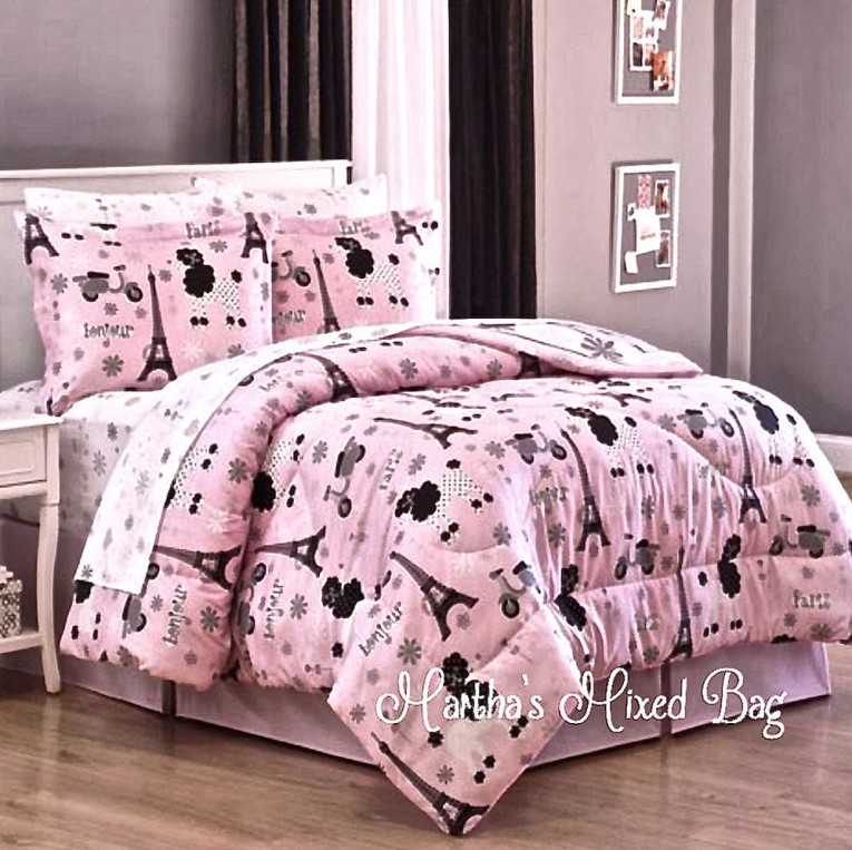 Beautiful Pink Strawberry Comforters For Teens And Laminate Flooring