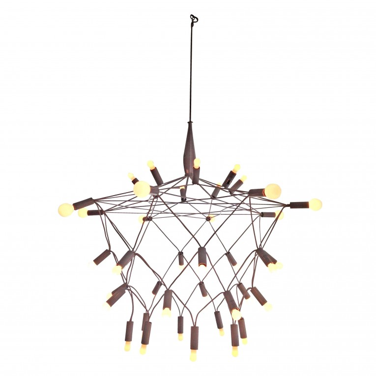 Beautiful Unique Design Of Orbit Chandelier With Iron Or Stainless For Ceiling Lighting Decorating Ideas