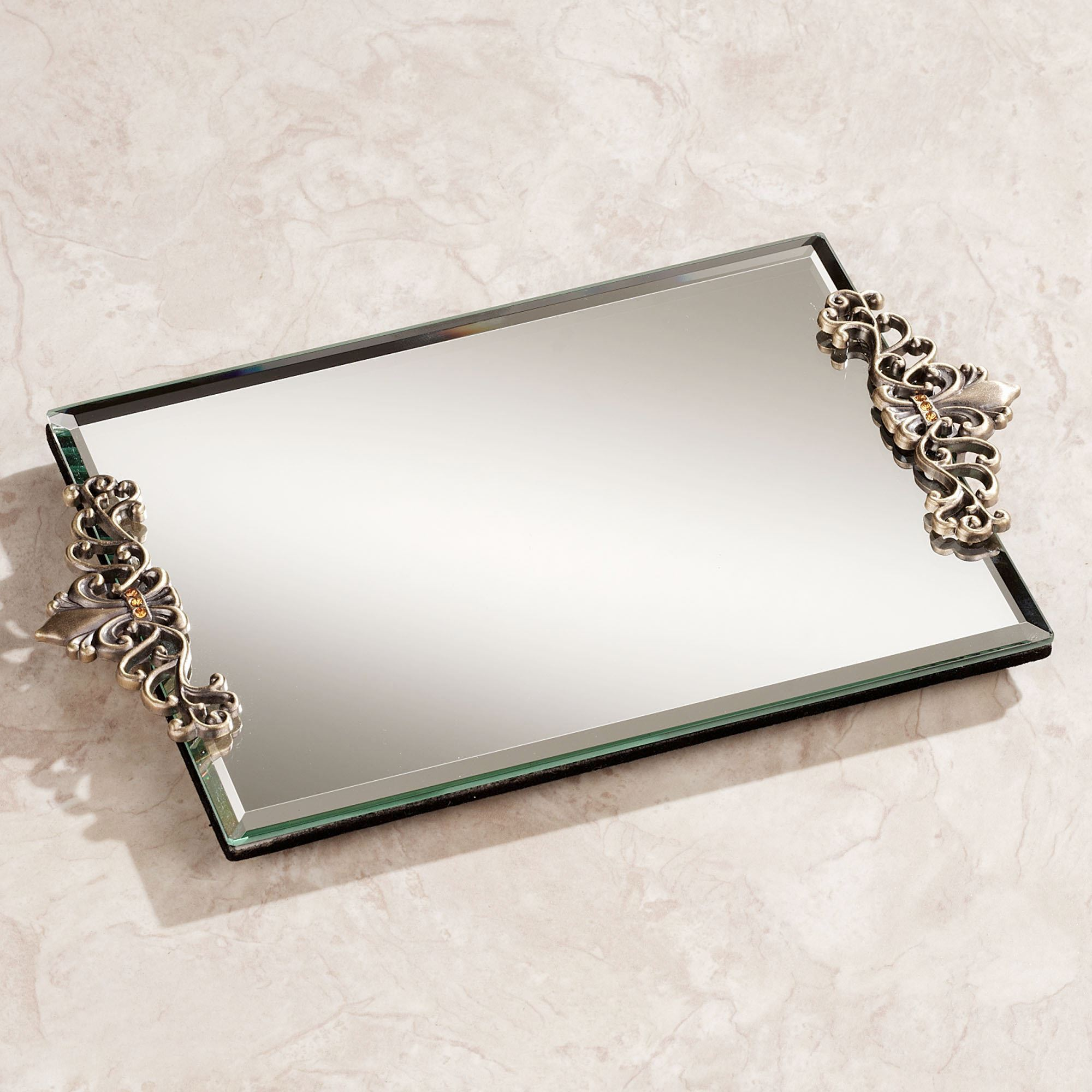 Best mirrored vanity tray