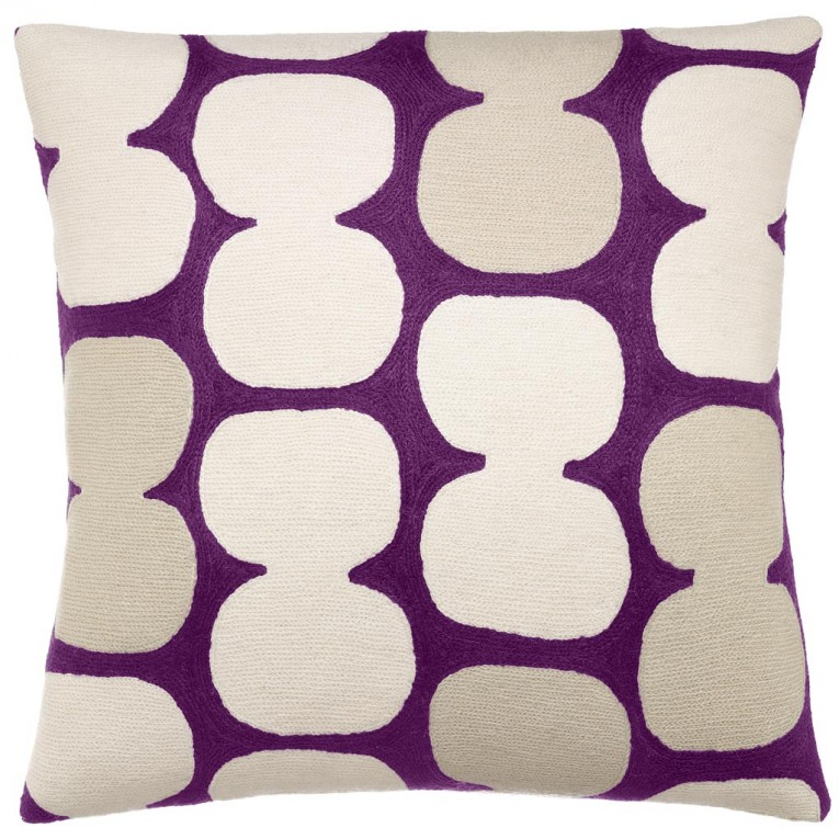 Best Purple Throw Pillows With Lavender Pillow Colors And With Abstract Pattern Cushion For Sectional L Sofa Living Room Ideas