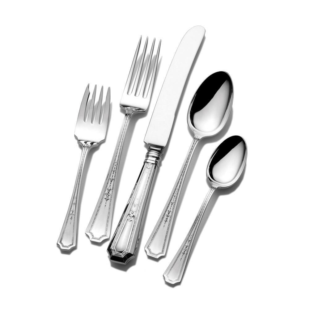 Best towle flatware 5 piece stainless steel flatware set for serveware ideas