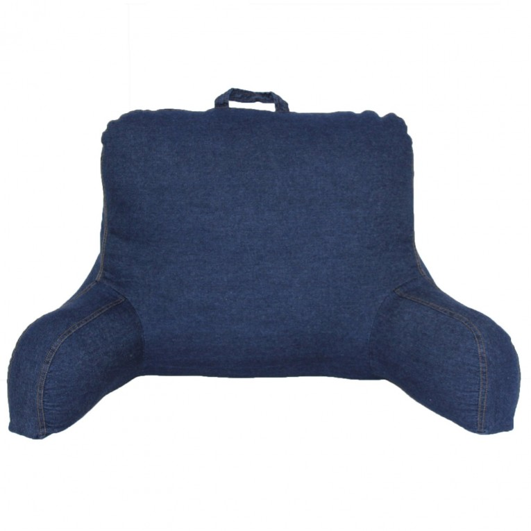 Blue Backrest Pillow With Arms Ideas