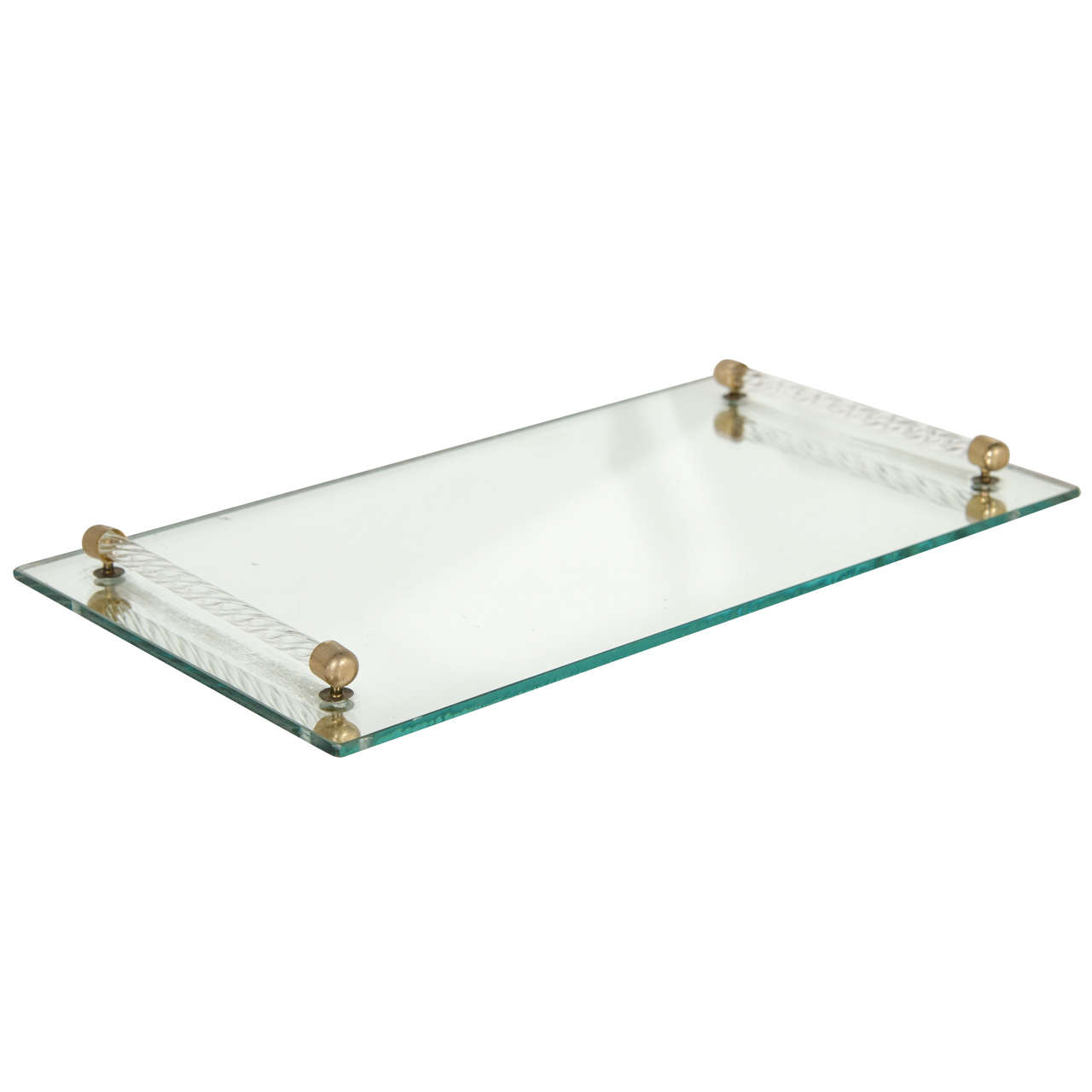 Breathtaking mirrored vanity tray