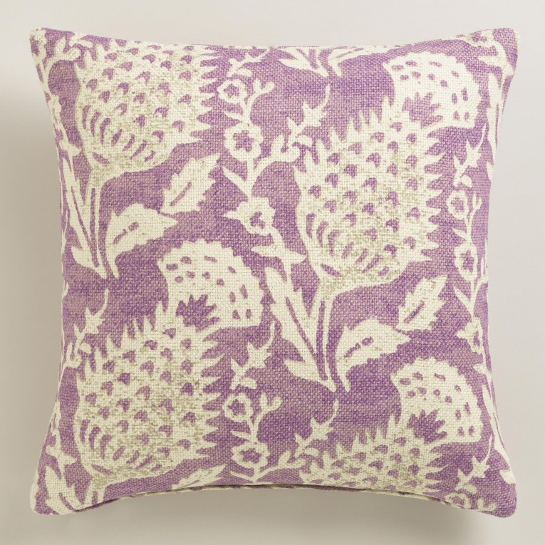 Breathtaking Purple Throw Pillows With Lavender Pillow Colors And With Abstract Pattern Cushion For Sectional L Sofa Living Room Ideas