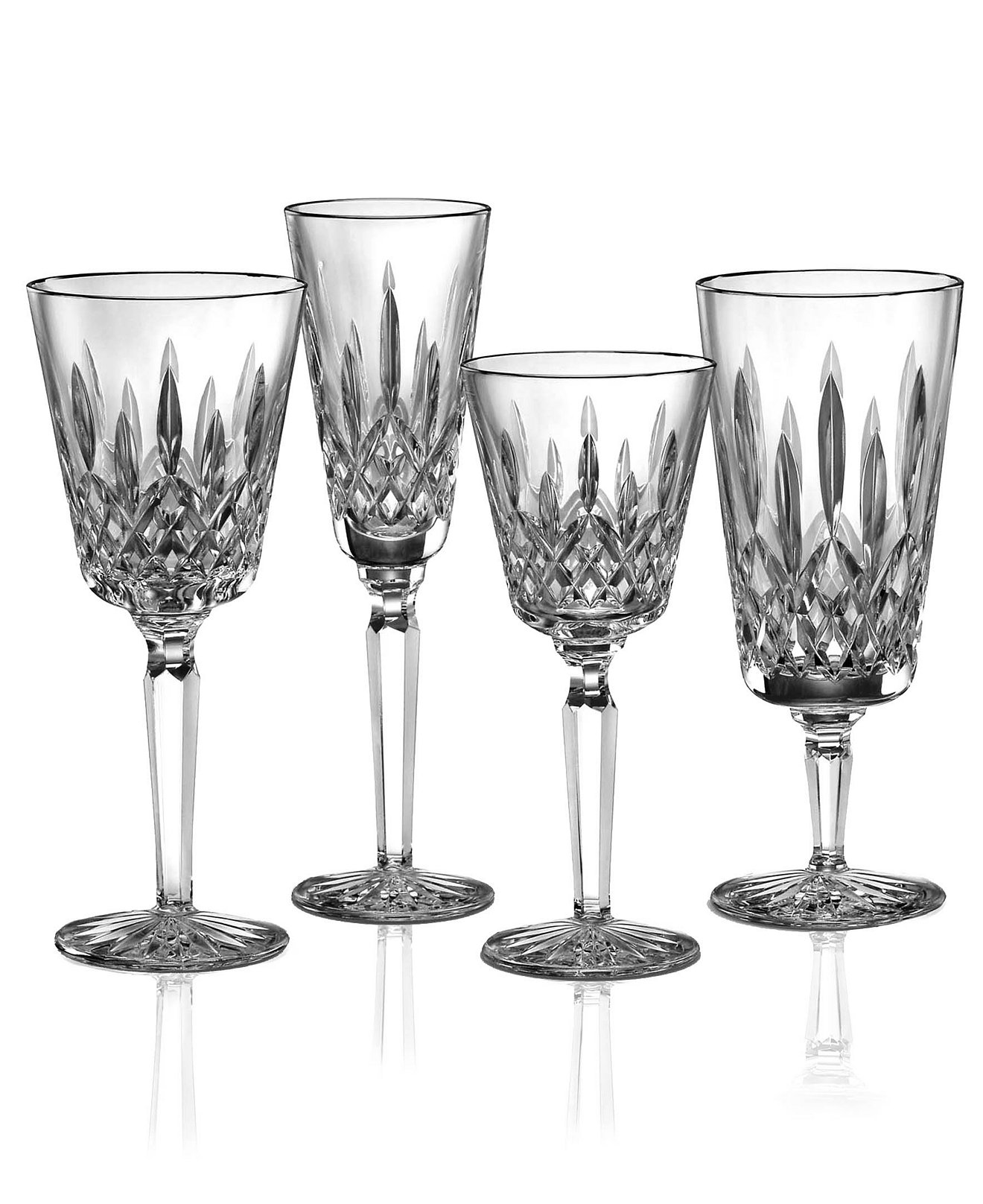 Breathtaking waterford lismore with lismore goblet design glass waterford lismore